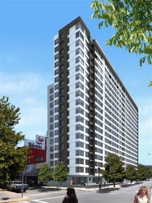 arriendo departamento de un dormitorio en edificio punto norte $135.000