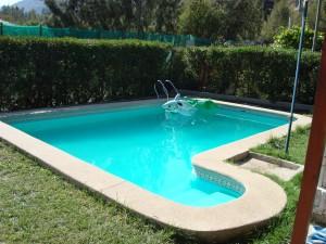 vendo casa olmu� caba�a,piscina,frutales