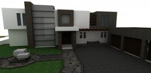 espectacular proyecto casa estilo contempor�neo